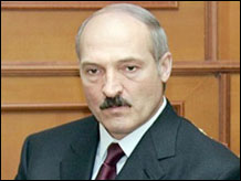 The president of Byelorussia